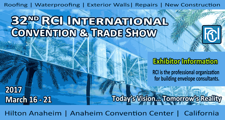 2017 RCI International Convention and Trade Show | March 16-21. Anaheim, CA