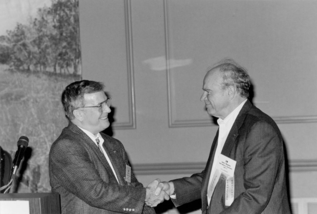 Don takes over the presidency from Jim Magowan in 1991.