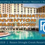 2019 RCI International Convention & Trade Show March 14-19, 2019 Rosen Shingle Creek Resort | Orlando, Florida