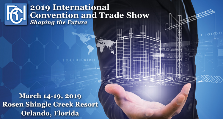 2019 RCI International Convention & Trade Show March 14-19, 2019 Rosen Shingle Creek Resort | Orlando, Florida