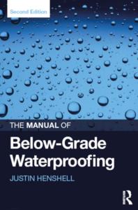 Manual of Below-Grade Waterproofing.