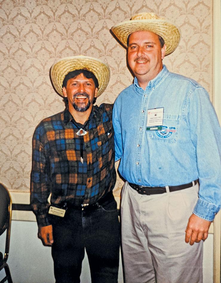 Mike DeFrancesco and Albert Duwyn