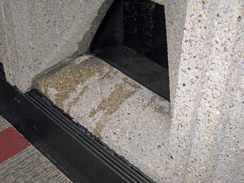 through-wall leakage