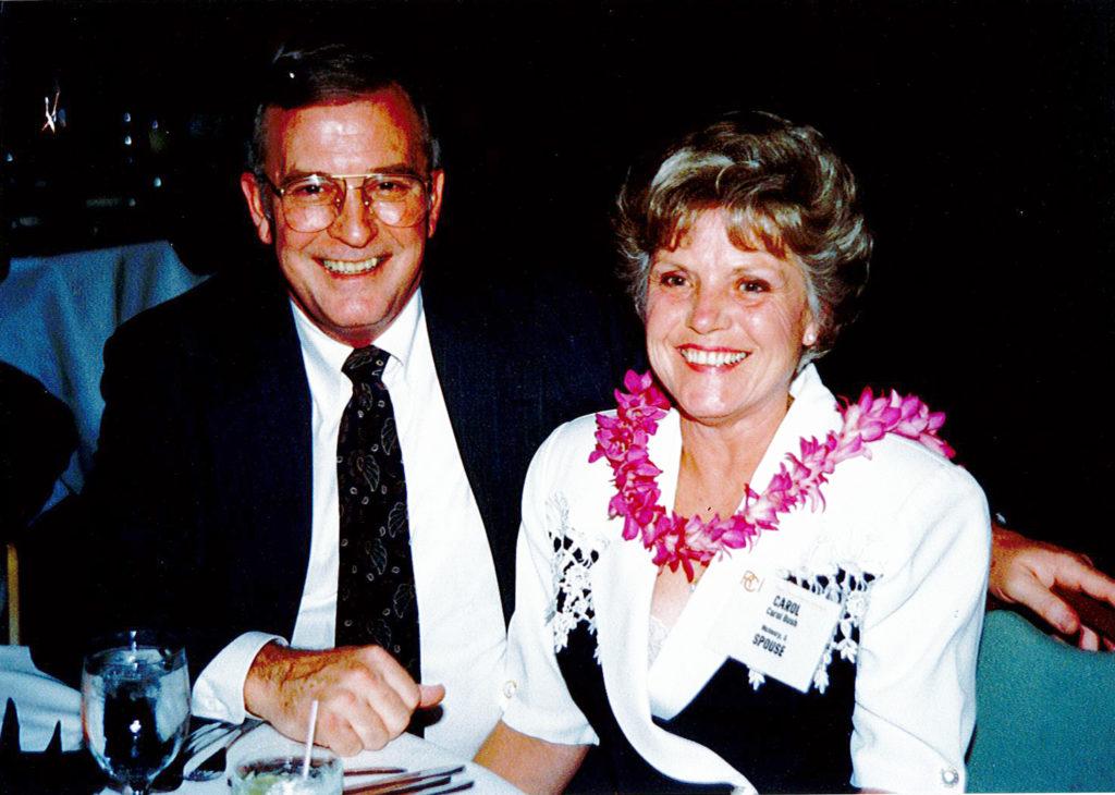 Don and Carol Bush in 1993.