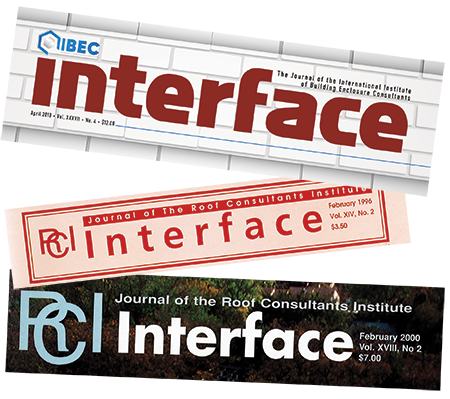 Interface mastheads