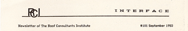 1983 Interface Masthead