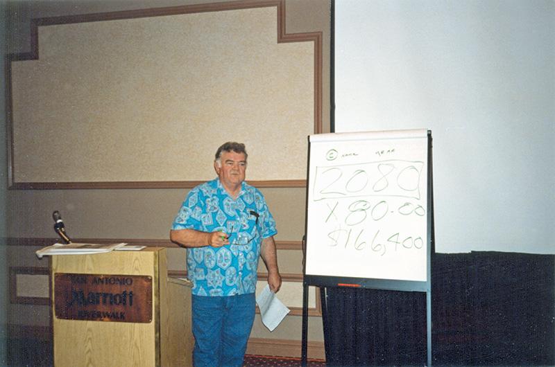 Joe Hale, president, 1994.