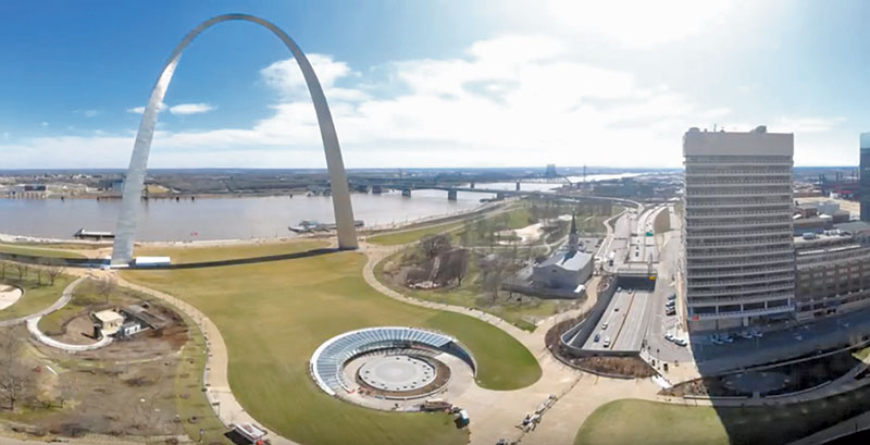 gateway arch museum site