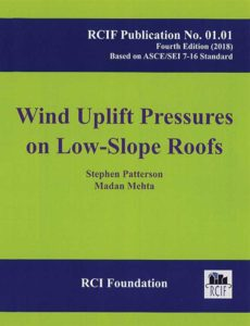 Book cover wind uplift pressures