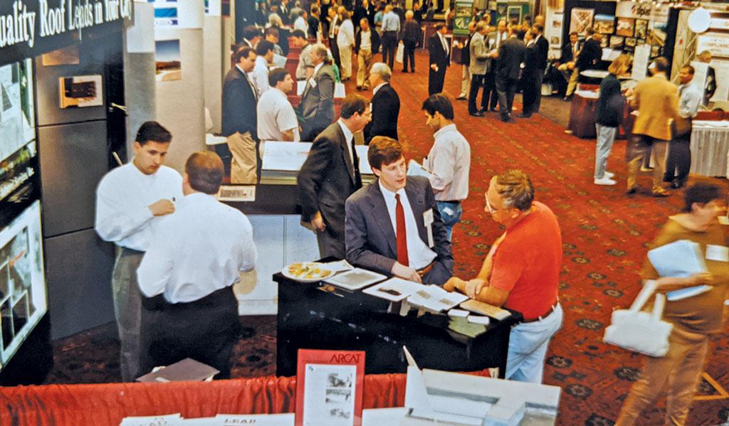 Trade Show Floor 1996