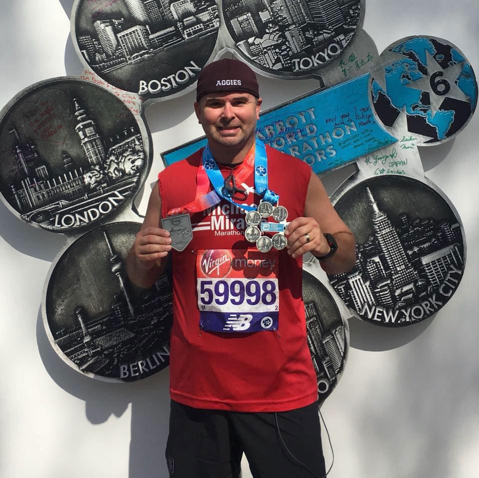 2018 London Marathon winner