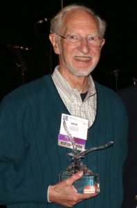 Fricklas with award