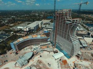 casino under construction