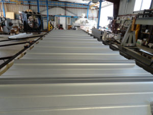 roof in factory for testing