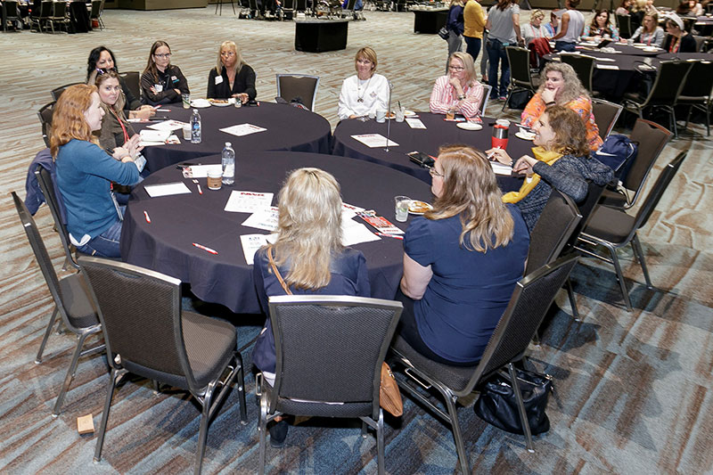 Women at Round Table