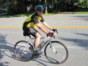 wagner on bike