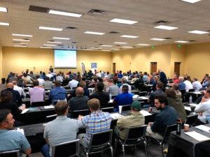 crowd at Denver event