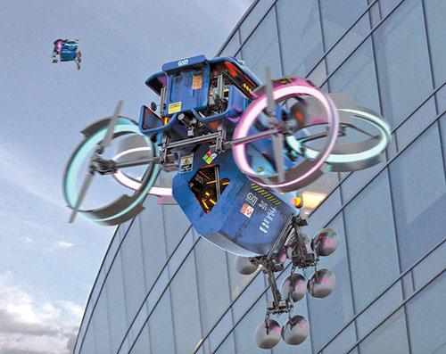 drone printer