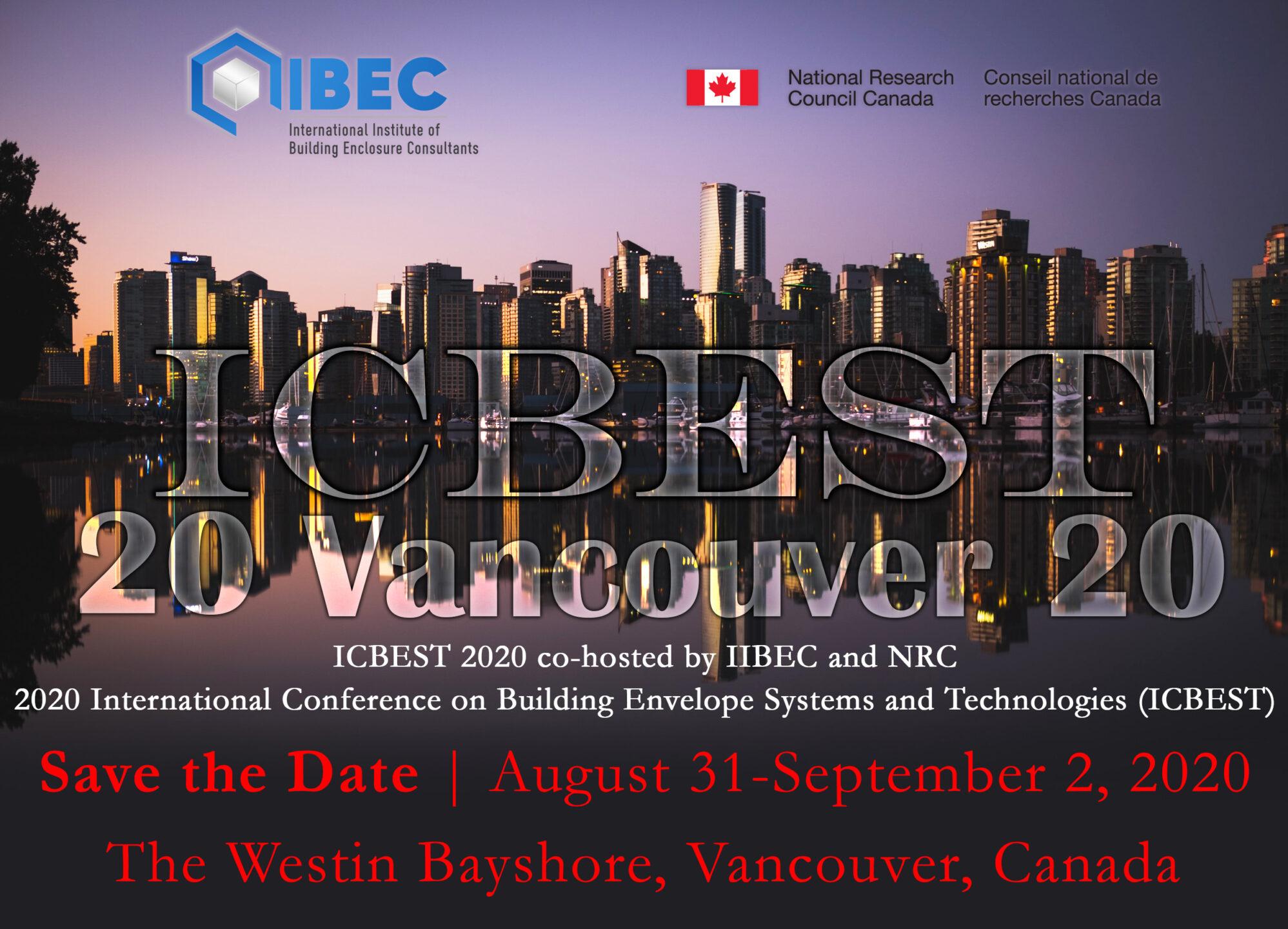 ICBEST 2020 Vancouver