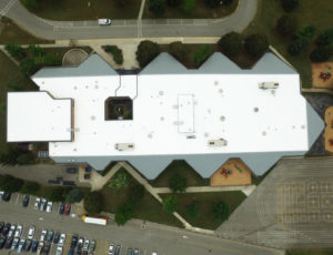Sutter Elementary aerial view