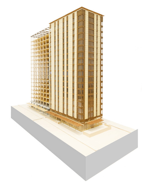 tall wood building