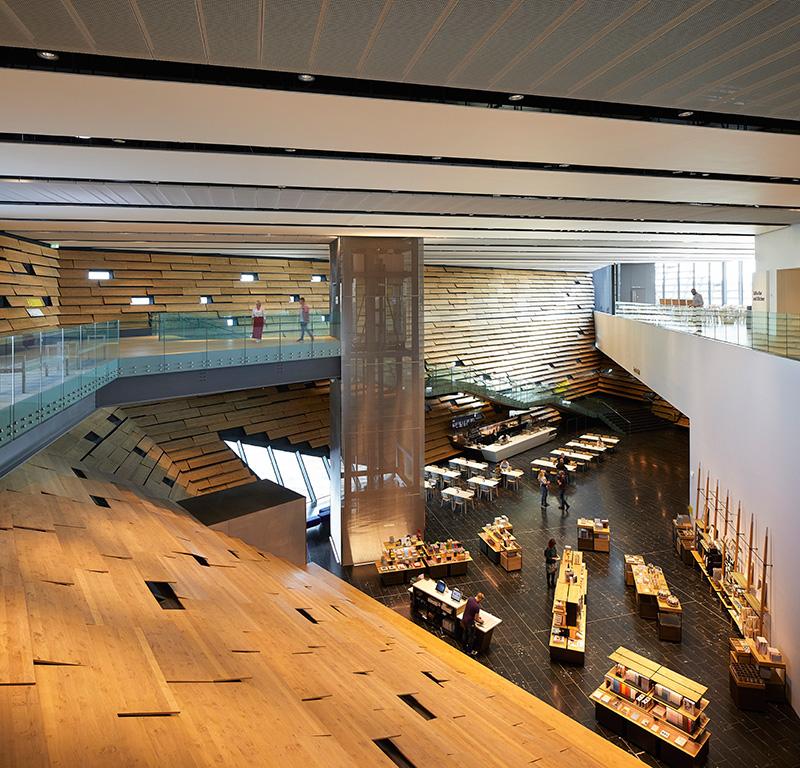 V & A Museum interior